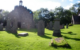 Ruins of 17th Century Balquhidder Kirk