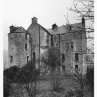 Edinample Castle with previous ugly Victorian  extension