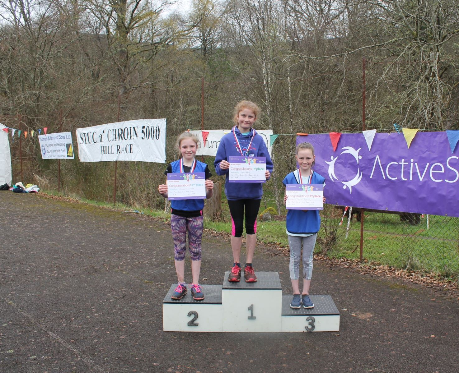 Mini Stuc girls winners