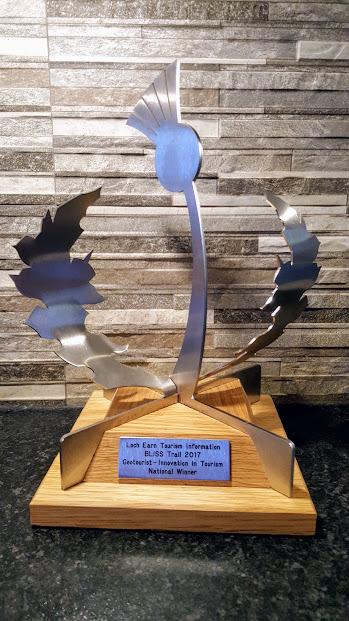 Thistle Award Trophy