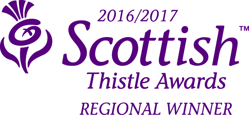 Regional Winner Scottish Thistle Awards -LETi
