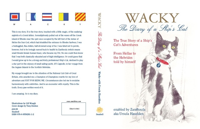 Wacky the Ships Cat Book