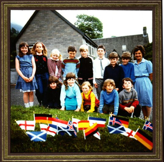 6 Different Nationalities attended the School, Scottish, English, German, Dutch, Spanish and Icelanders.
