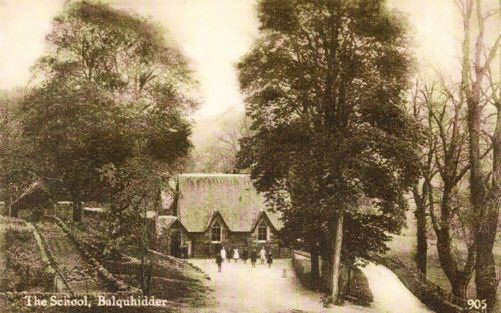 Balquhidder Primary School 1900's