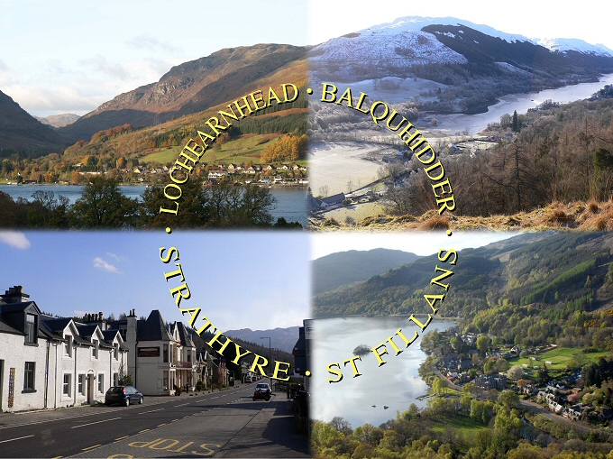 Balquhidder, Lochearnhead Strathyre and St Fillans