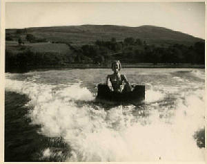 History of Water Skiing on Loch Earn from 1955